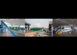 Goa MSW Treatment Plant at Calungute Saligoan North Goa